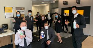 CommBank employees supported by teams and colleagues as they work through a pandemic