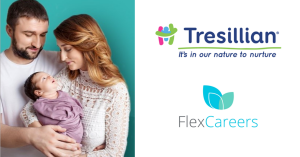 FlexCareers & Tresillian announce partnership to  support working parents